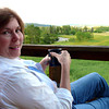 Donna Hull at Mystic Rose Cabin in Fishtail, Montana