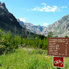 East Rosebud Trailhead near Alpine, Montana