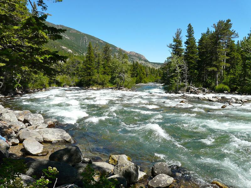 The Stillwater River near Nye, Montana.