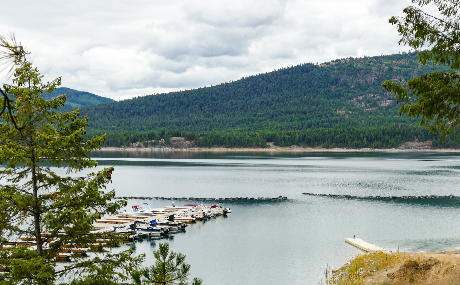 Drive the Lake Koocanusa Scenic Byway during your stay at Coyote Bluff Estate in Somers, Montana.