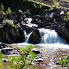 Red Rock Falls in Glacier National Park