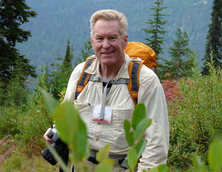 Alan Hull on the Danny On Trail in Whitefish, Montana