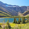 Bullhead Lake, one of the prettiest spots in Glacier National Park