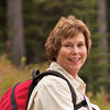 Donna Hull on the Danny On Trail in Whitefish, Montana