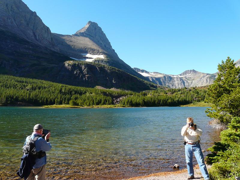 Red Rock Lake at Glacier National Park