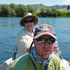 Donna and Chris of Cross Currents Fly Shop