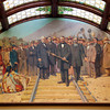 Mural at the Montana State Capitol Building in Helena, Montana.