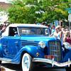 Antique Car at the Creamery Picnic Parade
