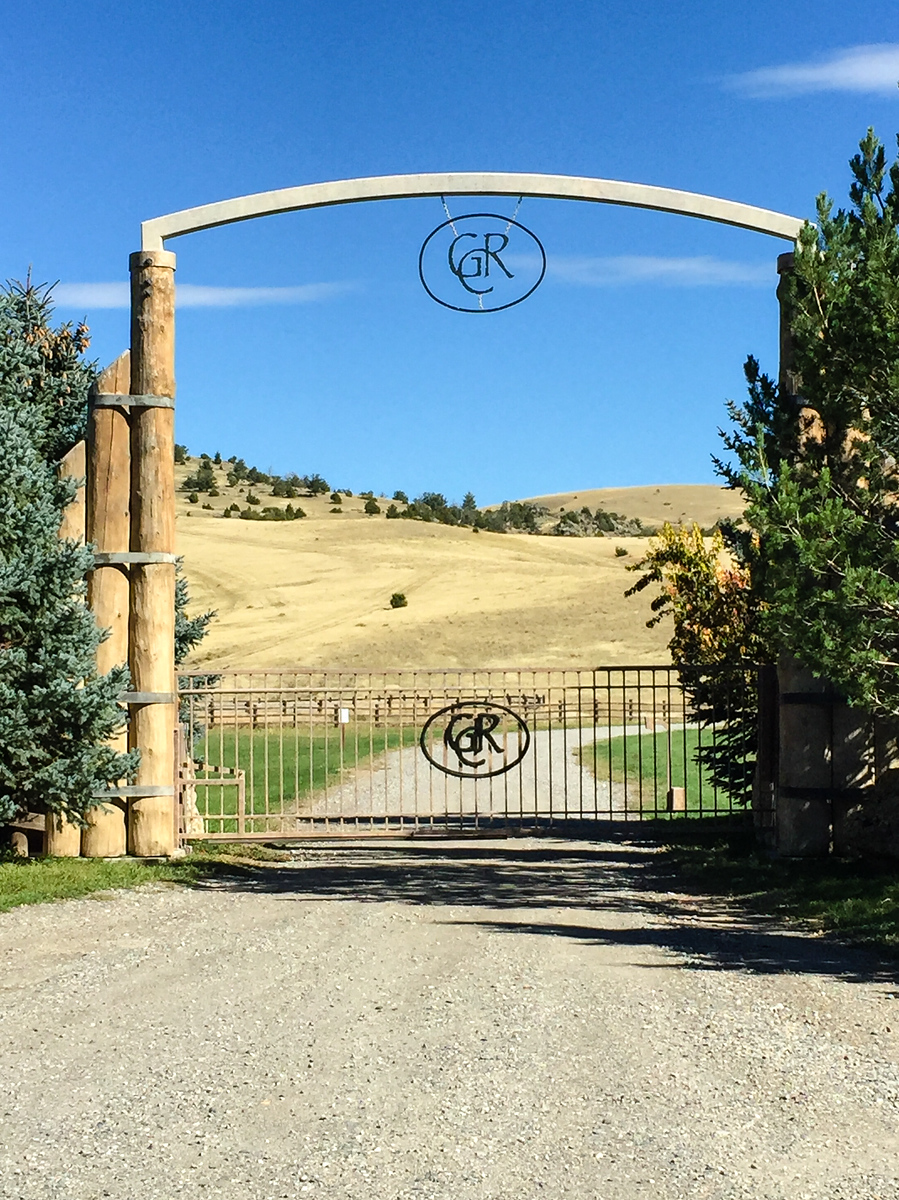 Enter the gate for a Grey Cliffs Ranch getaway in southwestern Montana. Click through to read about our stay.