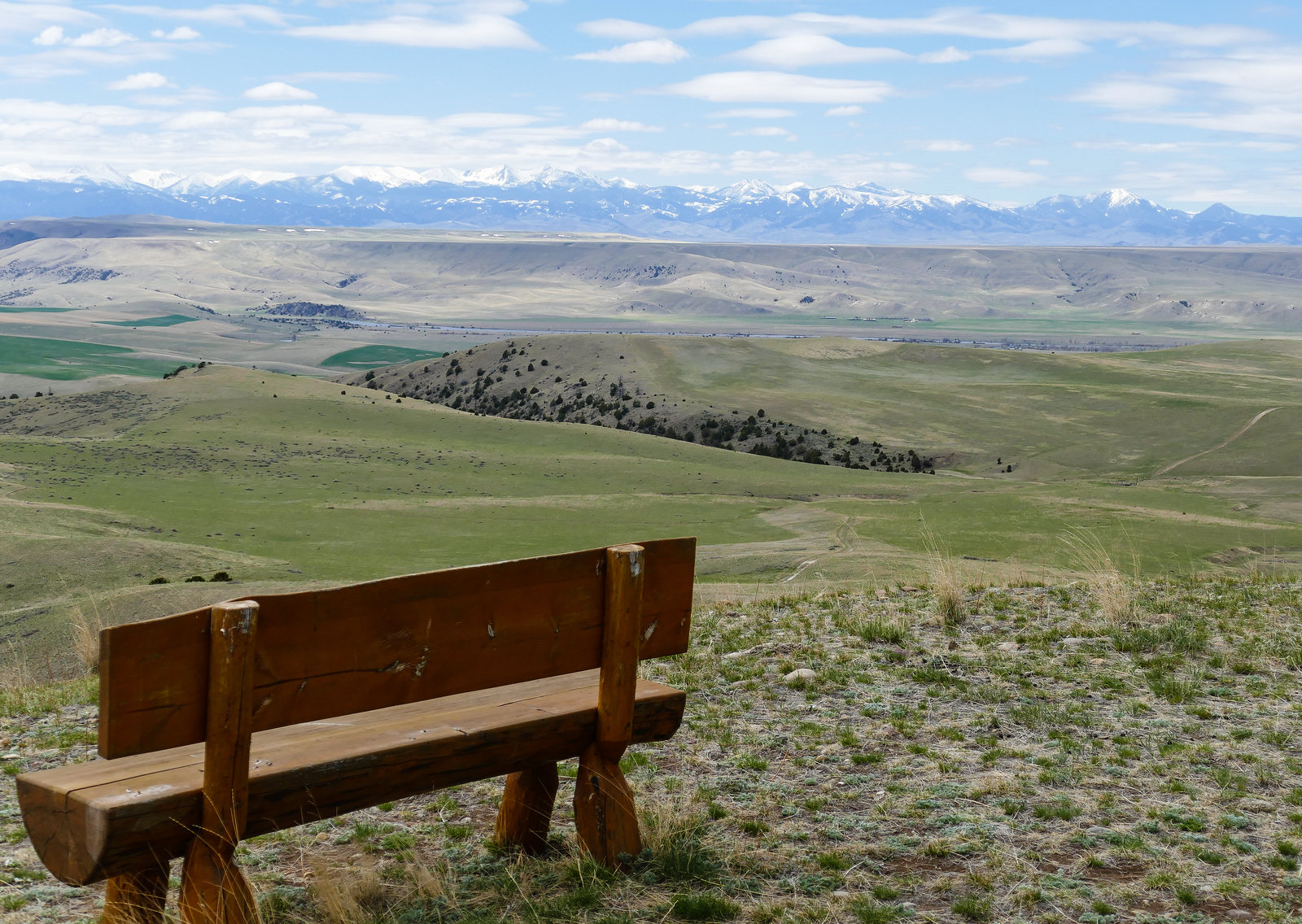 Hike the trails at Grey Cliffs Ranch for this Montana view. Click through to read more about it.