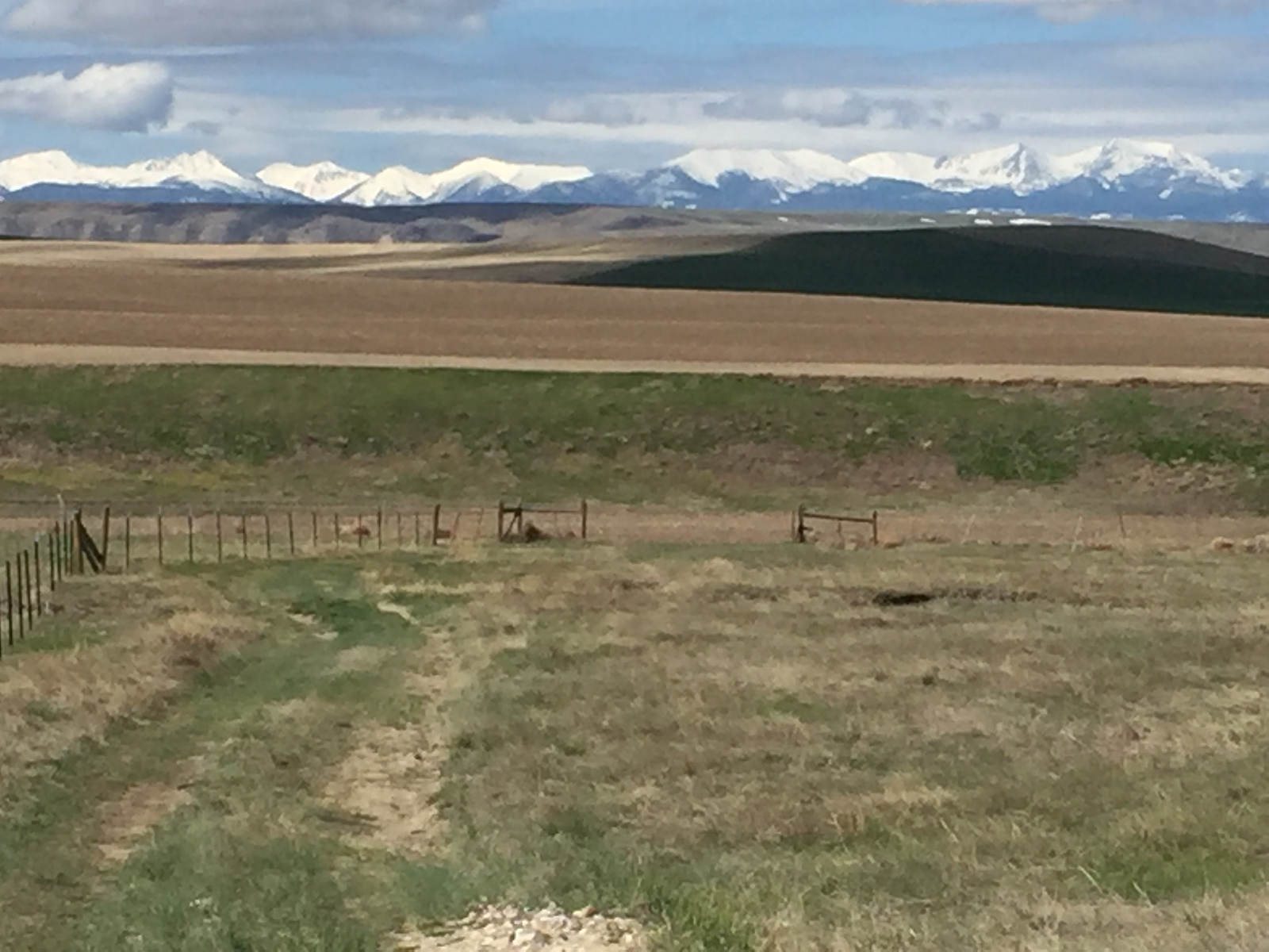 The view from Grey Cliffs Ranch in Three Forks, Montana.
