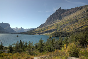 Lake St. Mary in Glacier National Park