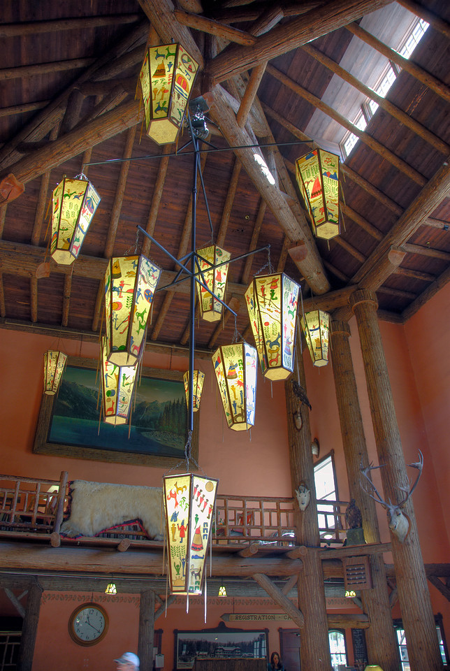 Adornments inside vacation accommodation in Glacier National Park
