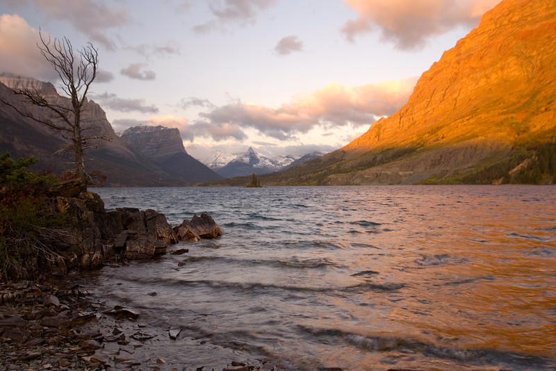 St. Mary Lake,Glacier National Park