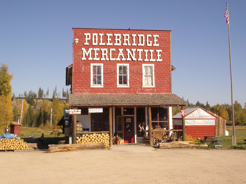 Polebridge Mercantile serves the North Fork area of Glacier.