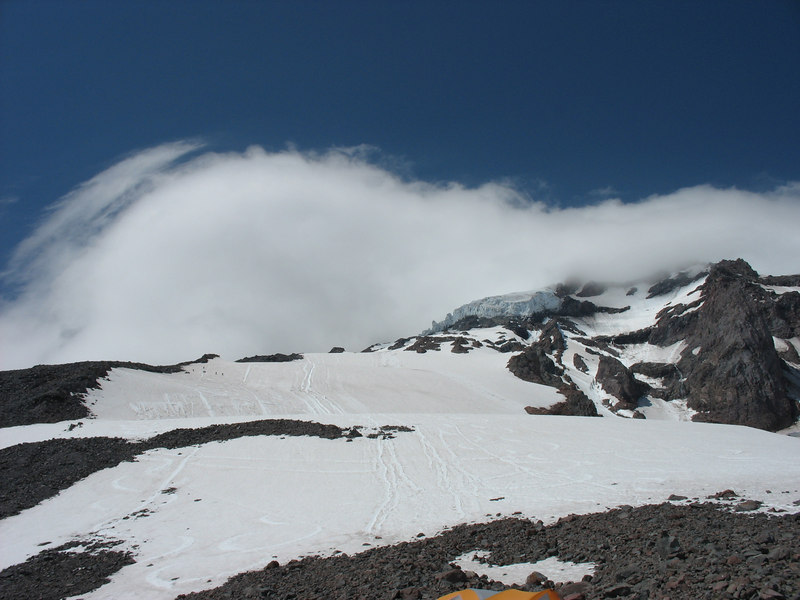 Summit day lenticular cloud