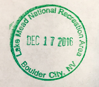 Lake Mead National Recreation Area Passport Stamp