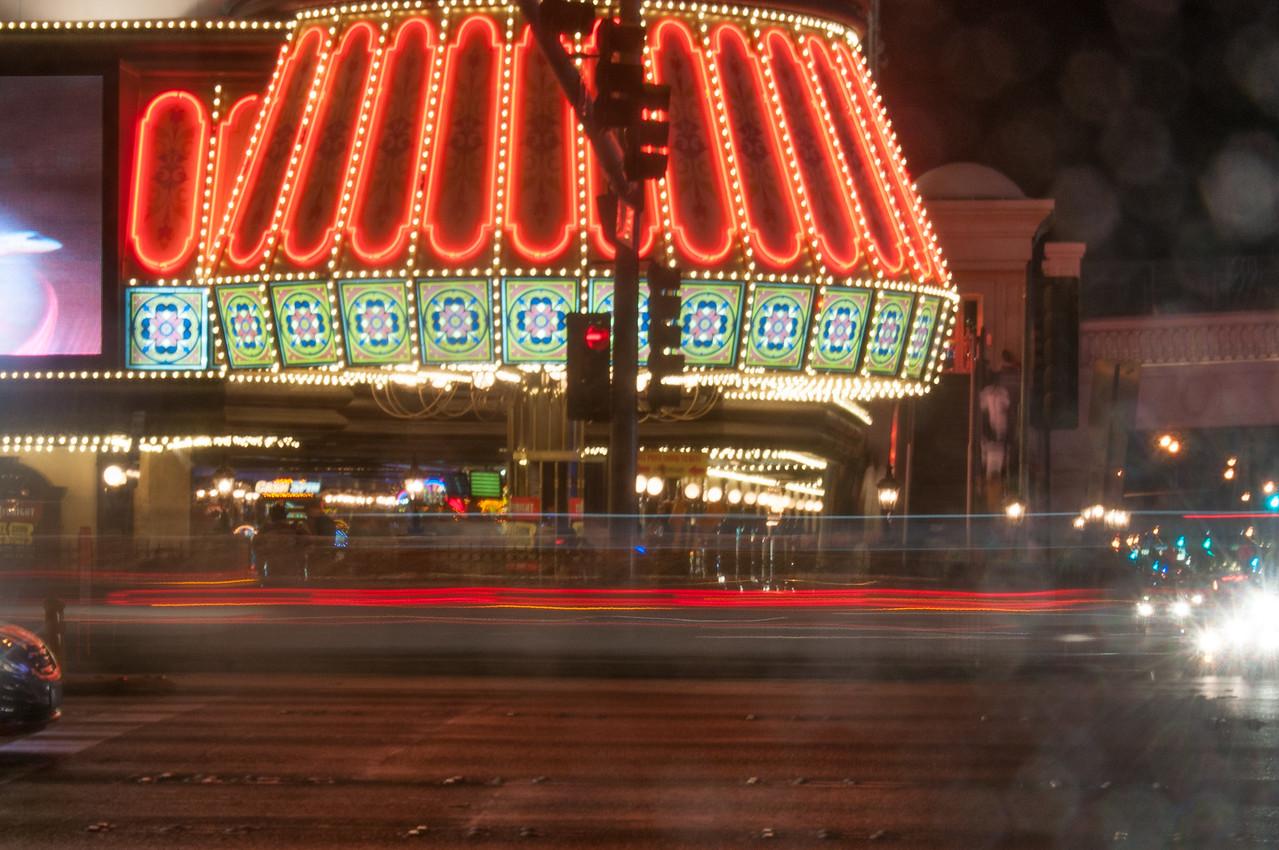 View from across the street to Bills' Gamblin' Hall & Saloon in Las Vegas