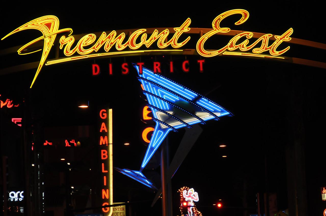 Fremont East District in Las Vegas, Nevada