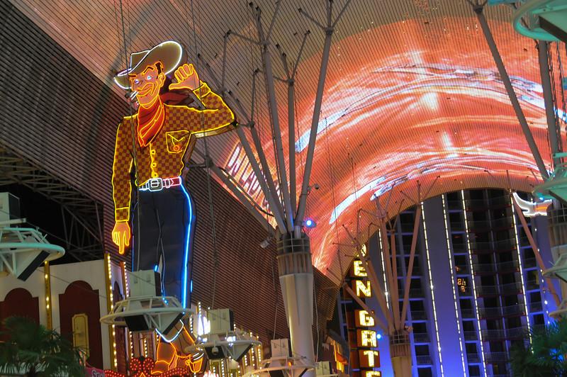 Vegas Vic at Sam Boyd's Fremont Hotel & Casino in Las Vegas, Nevada