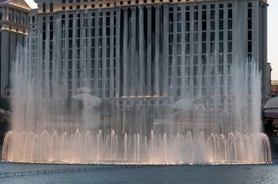 Fountain of Bellagio in Las Vegas, Nevada