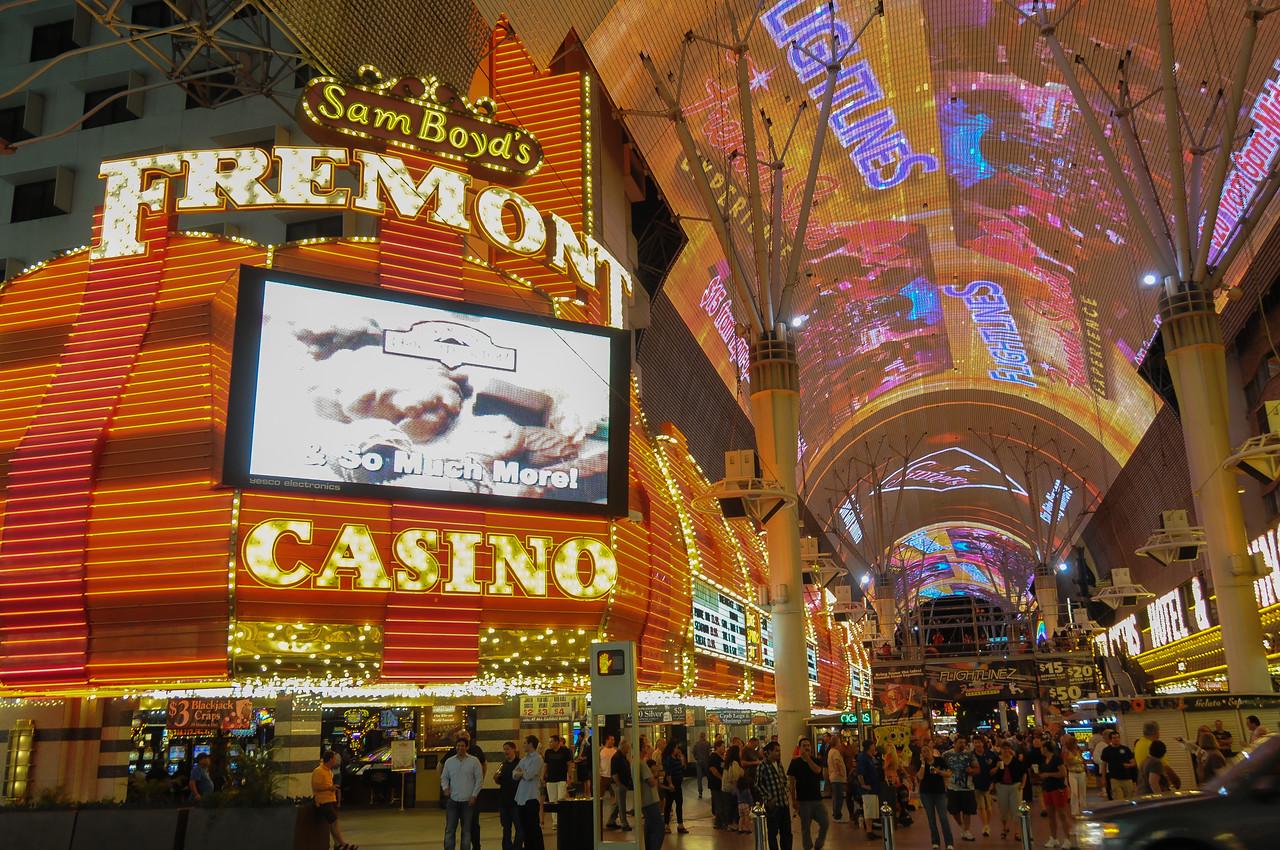 Sam Boyd's Fremont Hotel & Casino in Las Vegas, Nevada