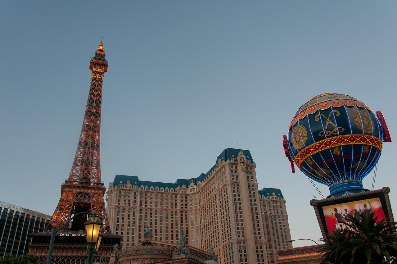 Eiffel Tower at Paris Las Vegas Hotel & Casino
