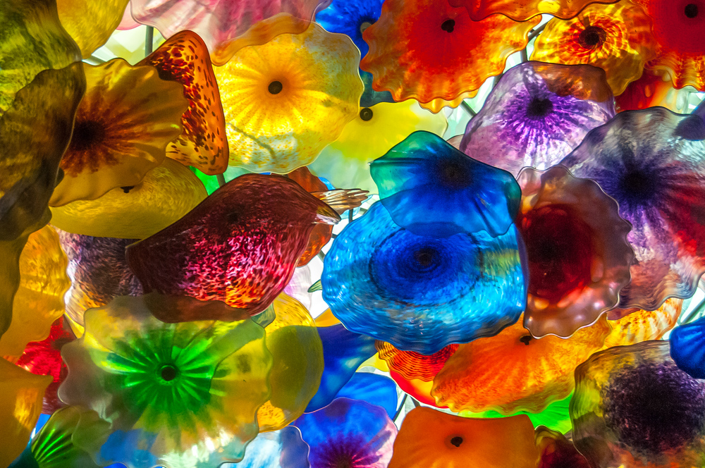 Dale Chihuly Glass Sculpture at the Bellagio Hotel in Las Vegas