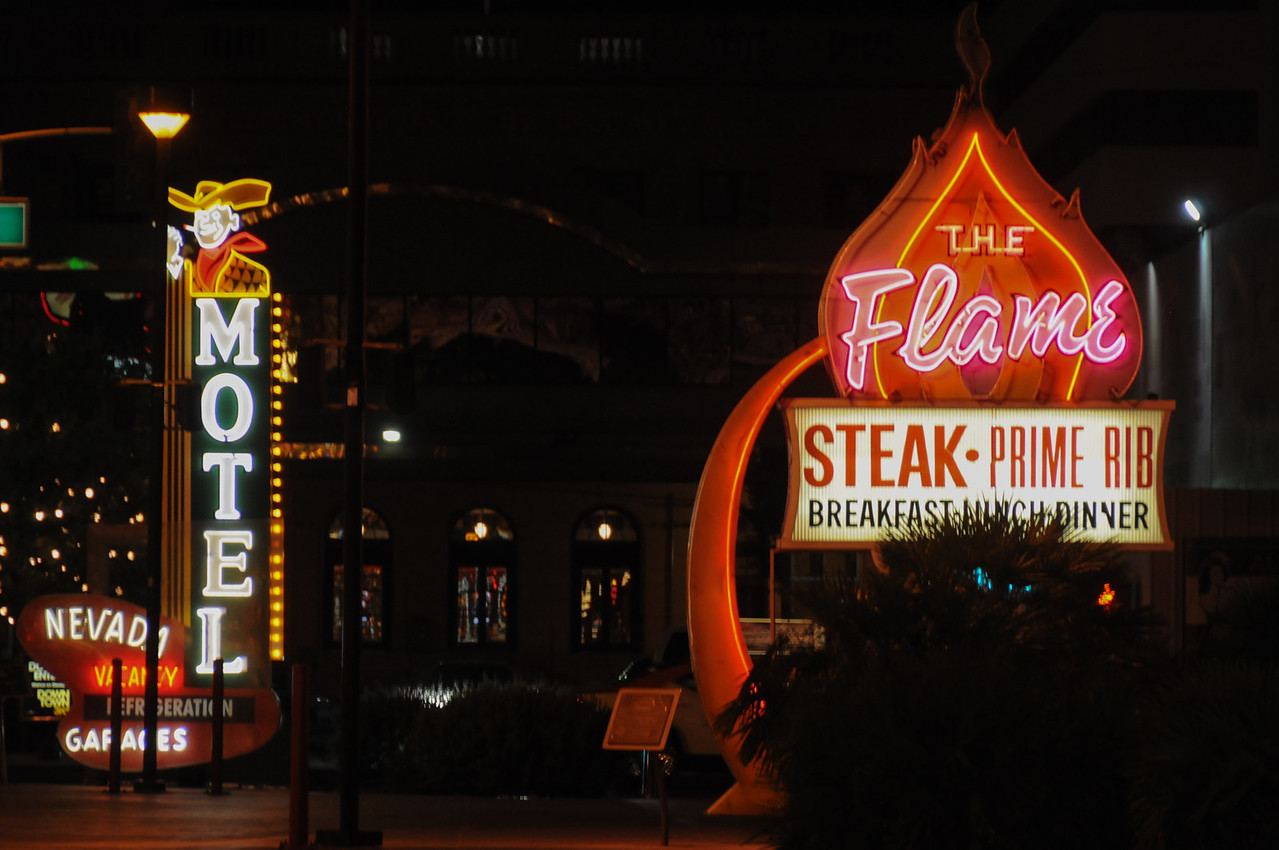 Neon signs in Las Vegas, Nevada