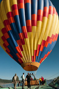 Hot air balloon ride in Lake Tahoe, Nevada