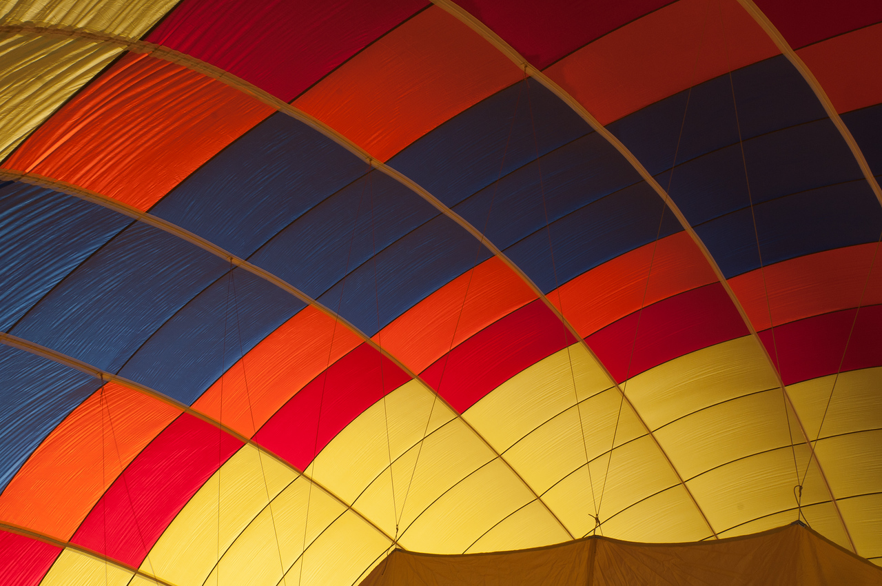 Hot air balloon in Lake Tahoe, Nevada