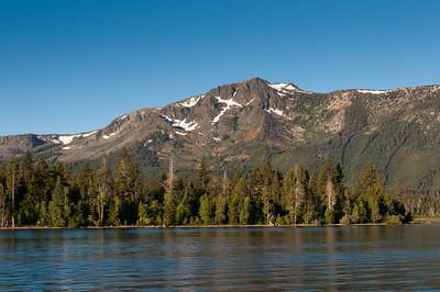 Sierra Nevada Mountains as seen from Lake Tahoe, Nevada