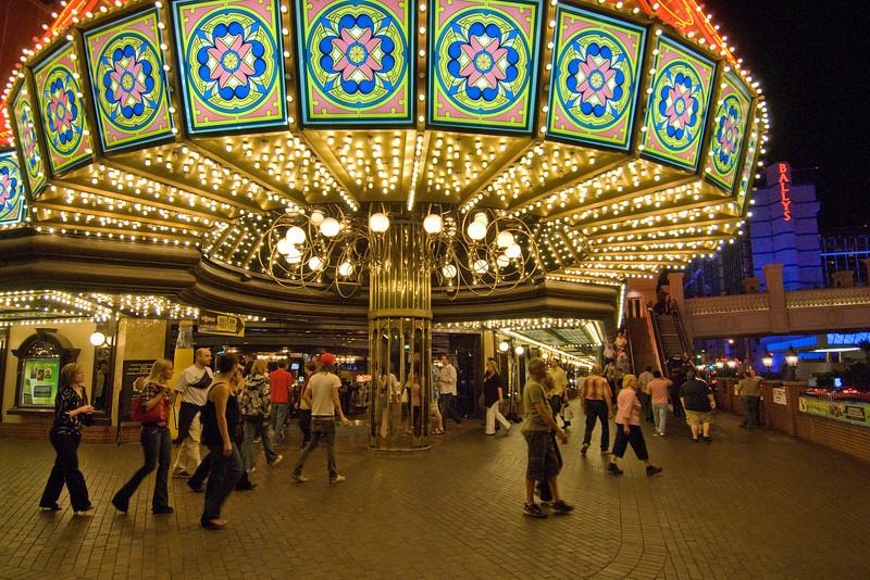 Entrance to Bill's Gamblin' Hall & Saloon in Las Vegas, NV