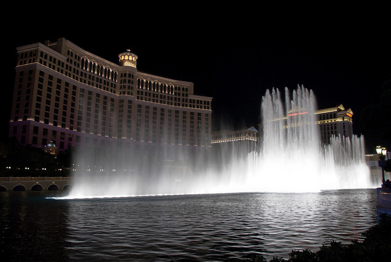 The Fountains of Bellagio in Las Vegas, Nevada
