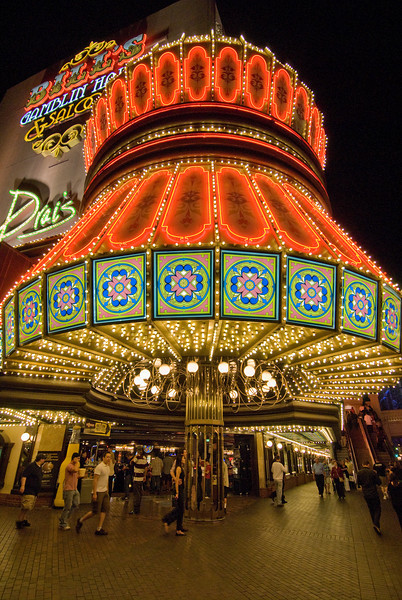 Bill's Gamblin' Hall & Saloon at Las Vegas, Nevada