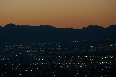 Las Vegas skyline at night - Nevada