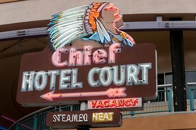 Chief Hotel Court in Las Vegas, Nevada