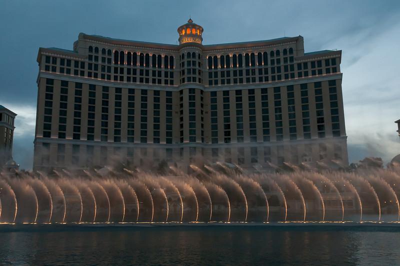 Fountains at Bellagio in Las Vegas, Nevada