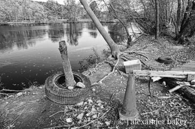 Ramapo River after Hurricane Irene Flood