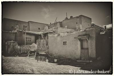 House Detail, Taos Pueblo