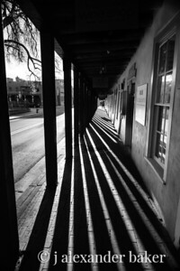 Ramada Shadows, Santa Fe, NM