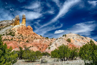 Chimneys, Ghost Ranch