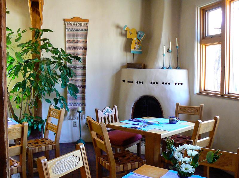 Dining room at El Paradero