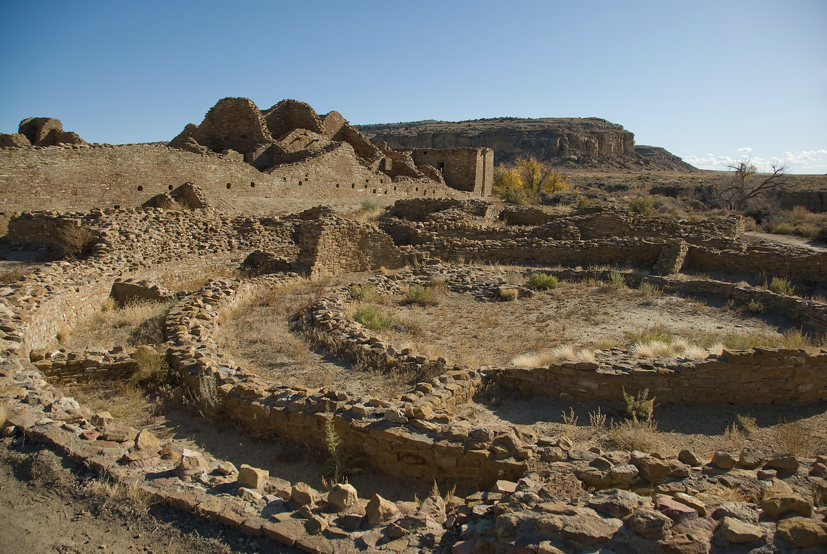 Chaco Culture National Monument in New Mexico