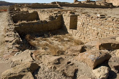 Pueblo Bonito in Chaco Culture National Historic Park, New Mexico