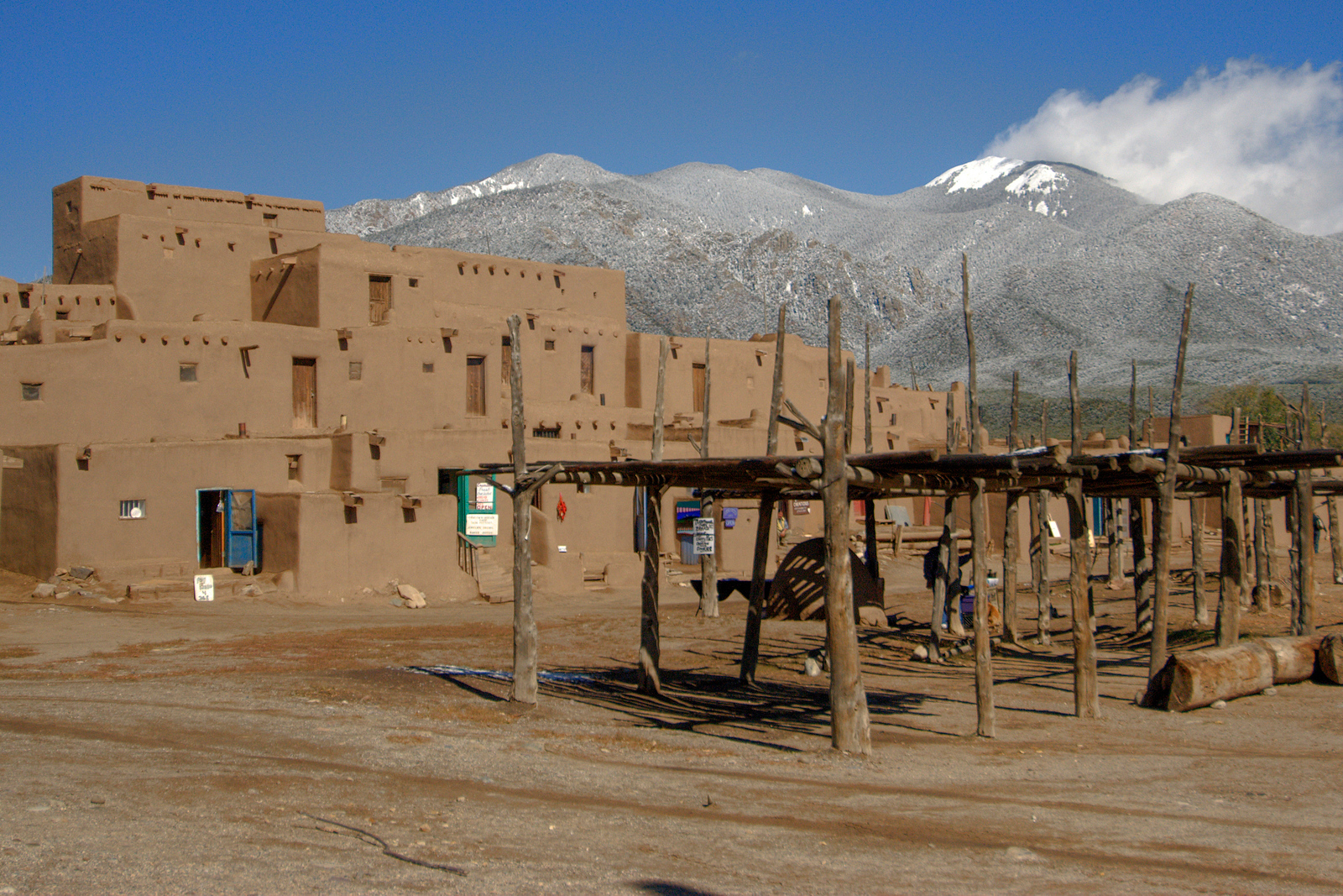 Taos Pueblo UNESCO World Heritage Site, New Mexico