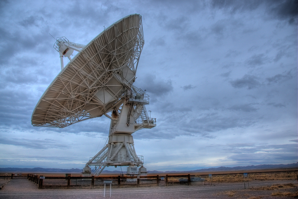 The Very Large Array radio astronomy observatory in New Mexico