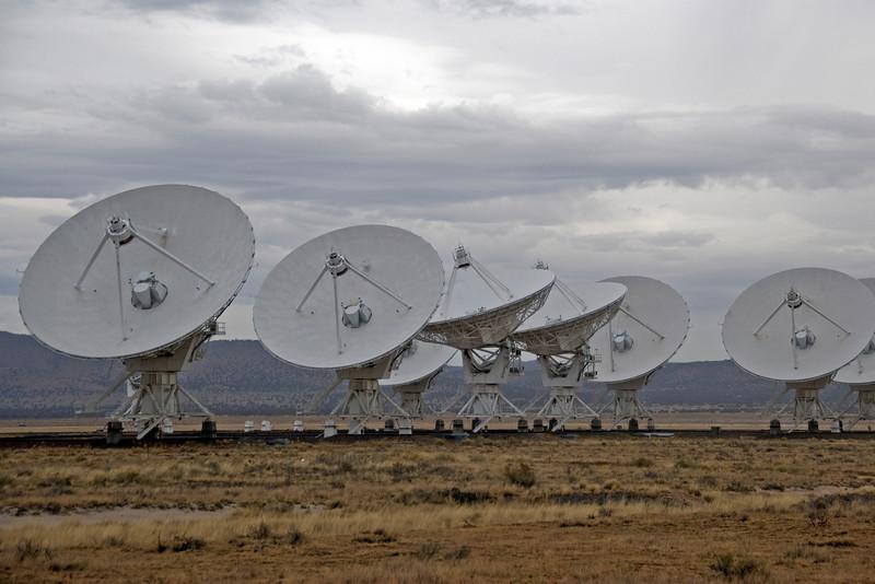 Antennas at VLA in Socorro County, New Mexico