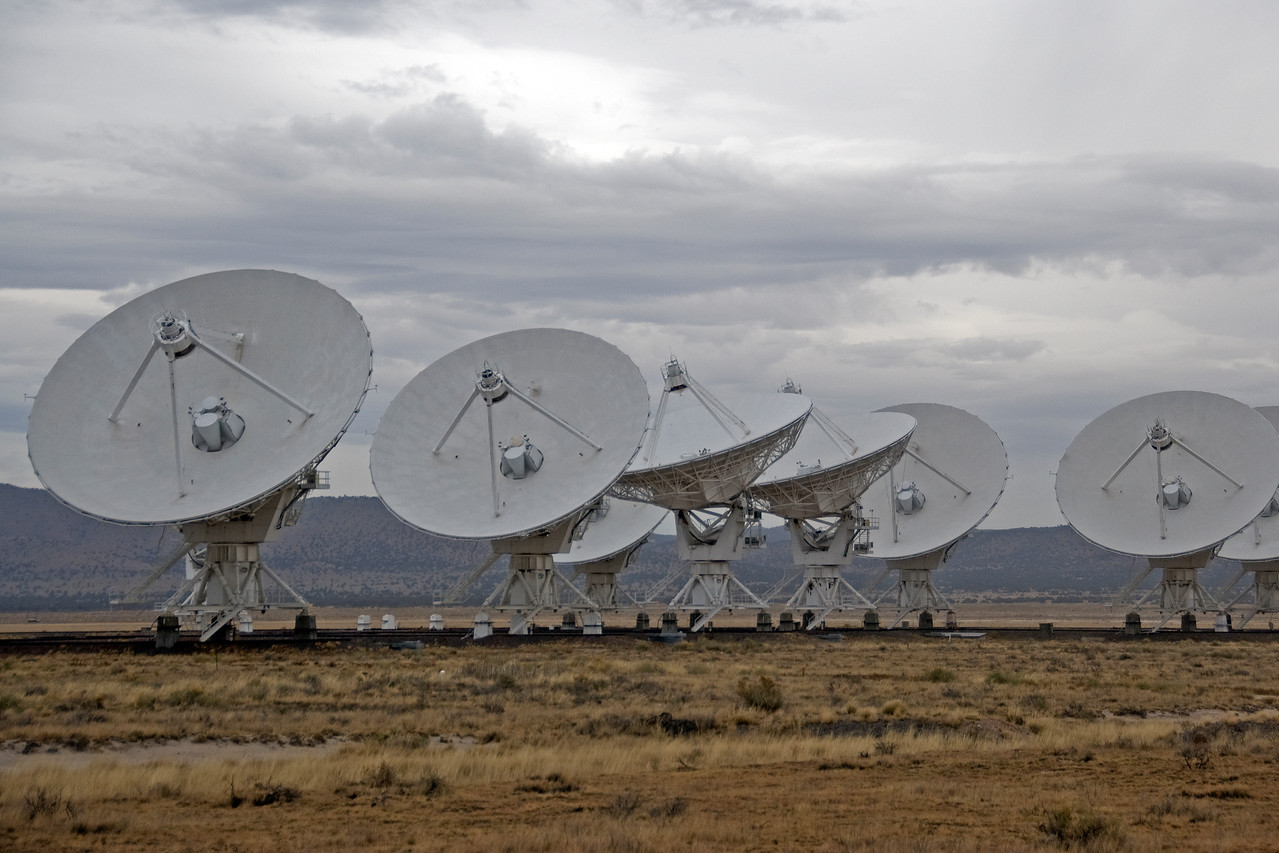 Antennas at VLA in Socorro County, New Mexico
