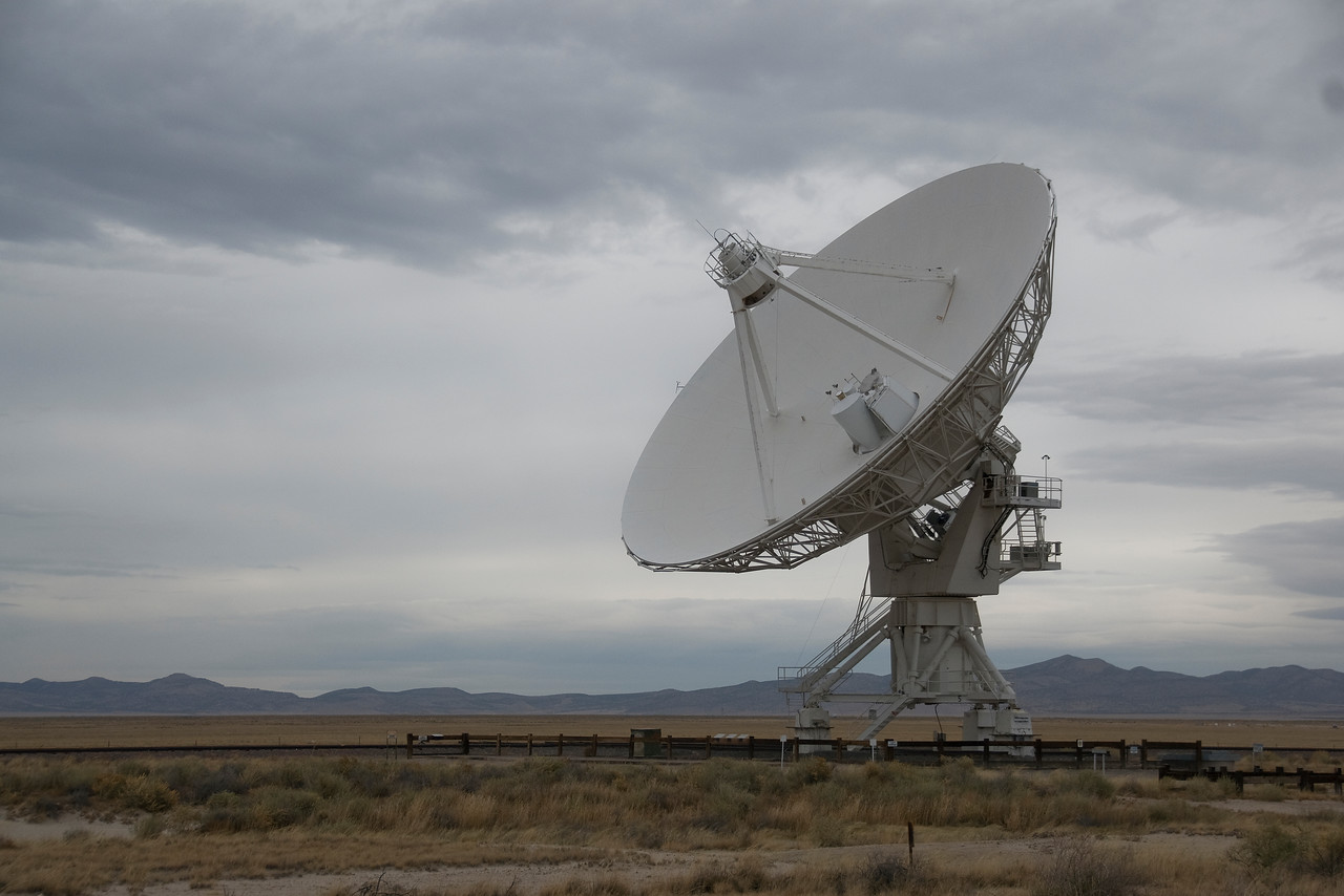 Antenna in Very Large Array, Socorro, New Mexico